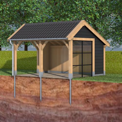 aken-schroeffundering-tuinkamer-fundering